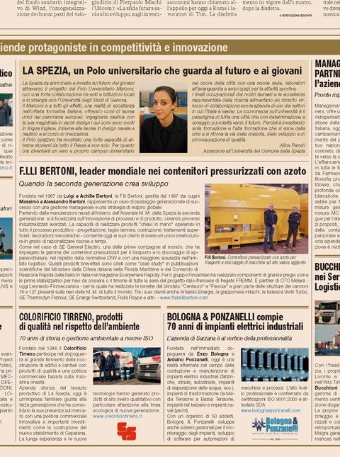 Articoli il Sole 24 Ore - Fratelli Bertoni